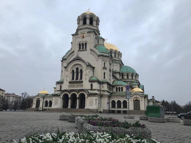 St. Alexander Nevsky Cathedral.